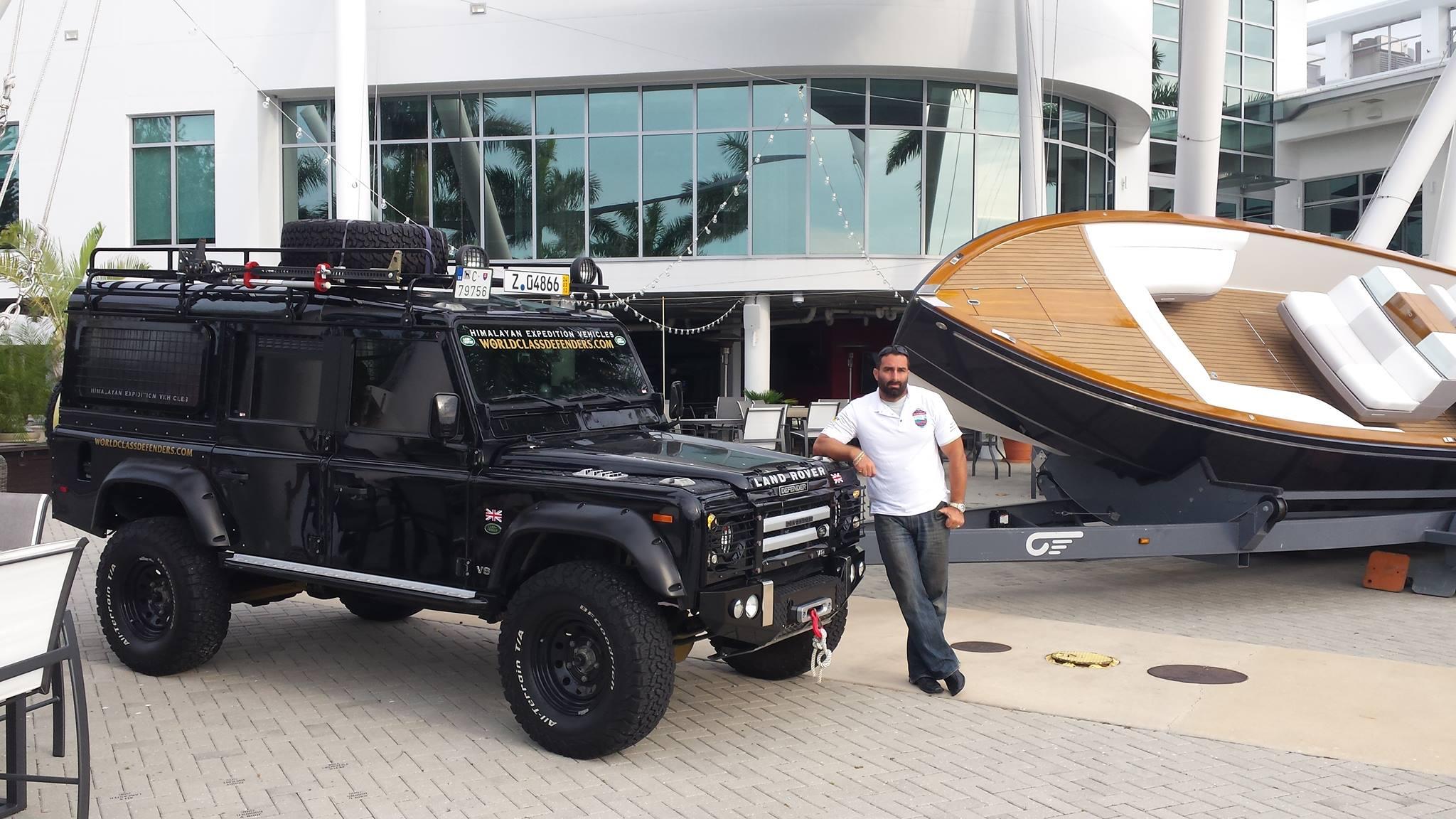 Cesta Land Rovera ze Slovenska na Floridu