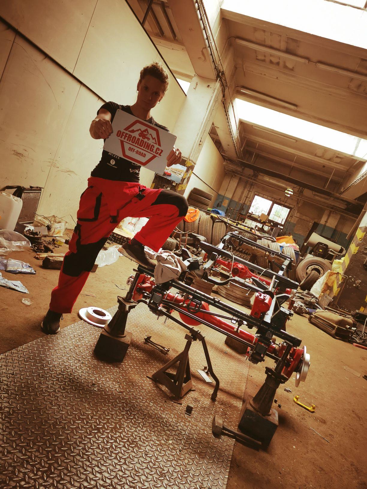 STALI JSME SE HRDÝM PARTNEREM Ollie Roučkové na Rally Dakar