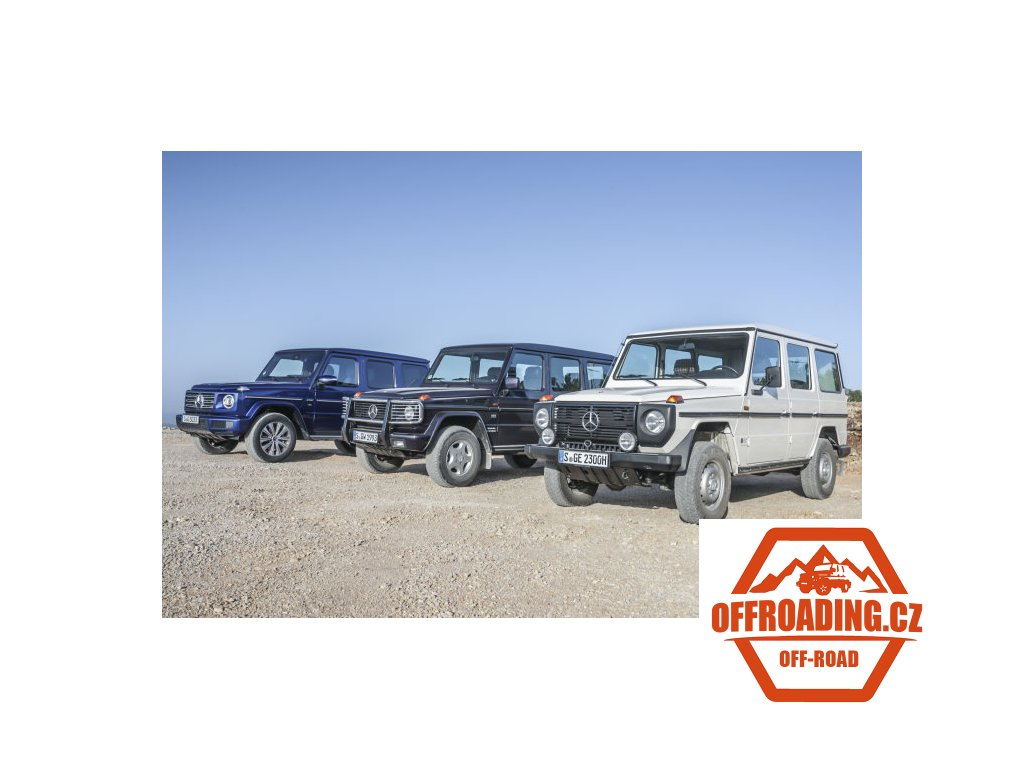 D548666 The off road classic premieres 40 years ago Grand birthday of the Mercedes Benz G Class