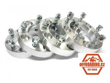 Rozšiřovací podložky černé 35mm 5x139,7 sada 4ks