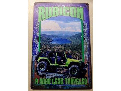 Plechová dekorační cedule Jeep legend