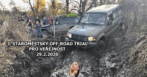 3. Staroměstský off-road trial pro veřejnost