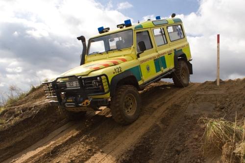 Kondiční jízdy řidičů záchraného systému