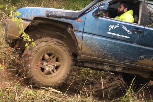 Video z off-road jízd 11.10.