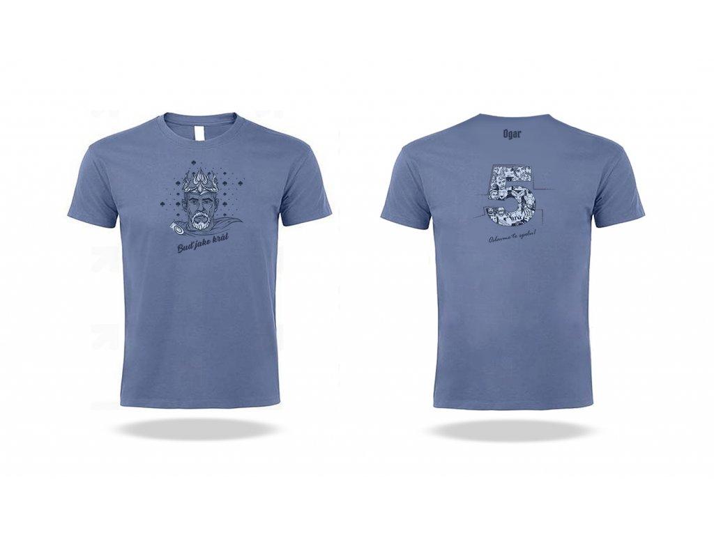Pánské Tričko Ogar- modré