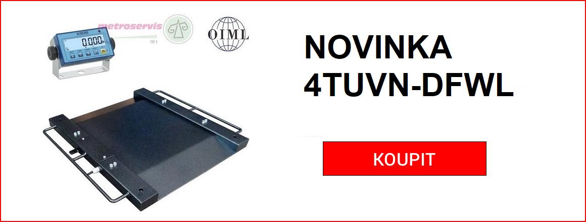 Novinka 4TUVN-DFWL nájezdové váhy