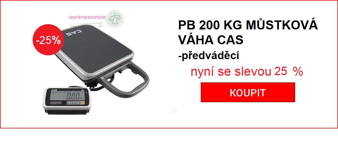CAS PB200 sleva 19%