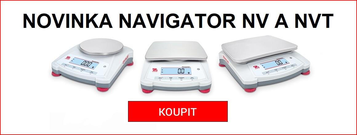Navigator NV a NVT Ohaus-novinka