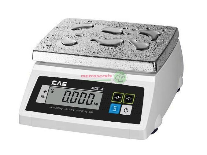 SW 1W-20kg gastro váha stolní Cas