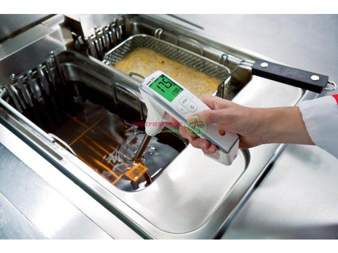 Testo 270 vpichovací digitální teploměr pro měření kvality oleje