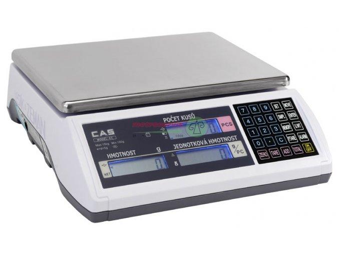EC - 6kg počítací váha Cas