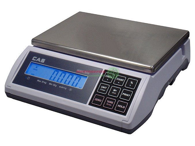 ED - H 6kg počítací váha Cas