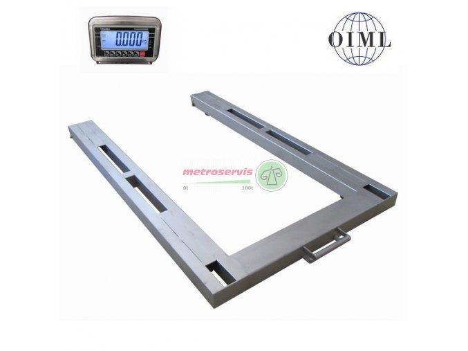 P4T0812NBWS Ližinové váhy 600 kg
