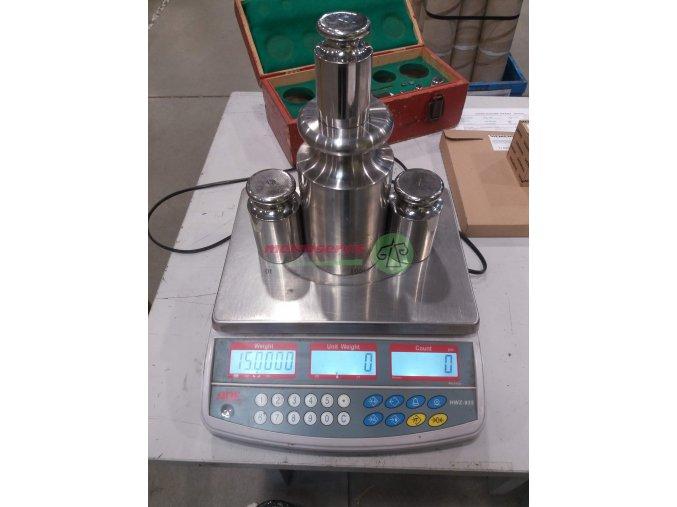 Akreditovaná kalibrace vah do 30 kg - nové