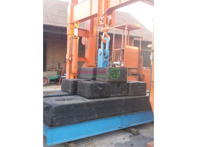 Akreditovaná kalibrace vah do 1 000 kg - nové