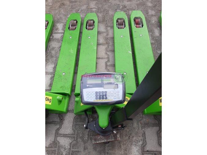Půjčovné paletových vozíků s váhou - měsíc