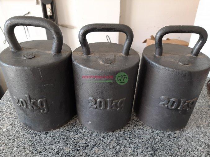 Litinové obchodní závaží 20 kg M1