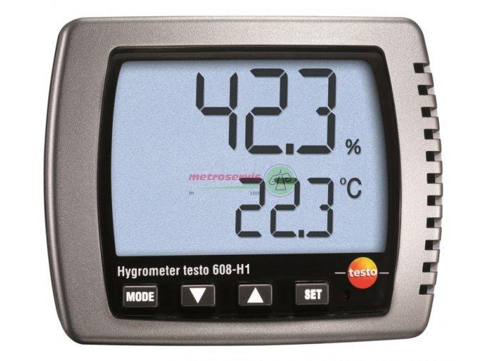 testo 608 H2 teploměr, vlhkoměr, rosný bod,alarm