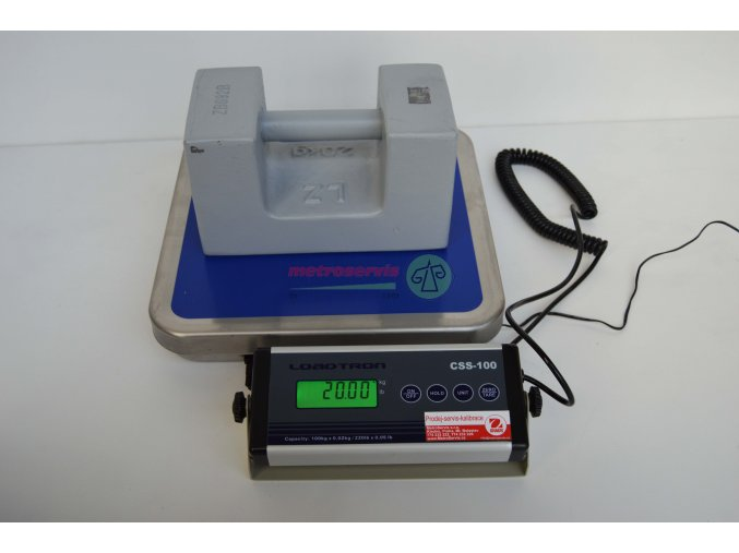CSS-100 Můstková váha 100 kg