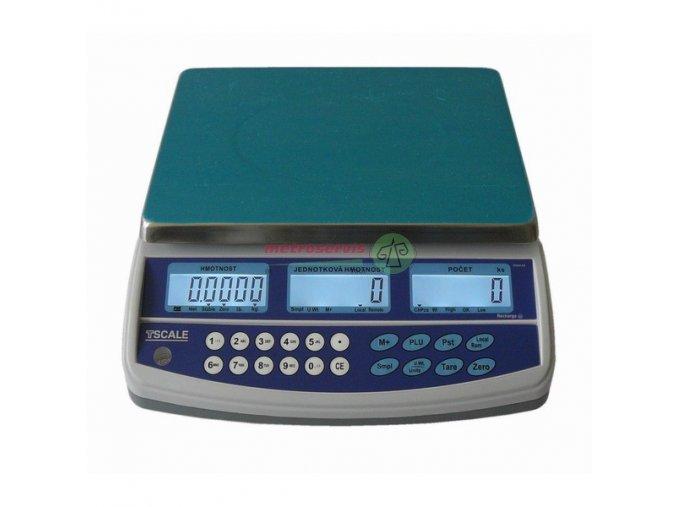 QHD-30 PLUS - 30 Kg/0,5 g Počítací váha