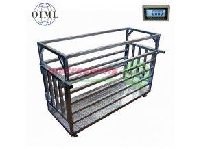 4TD0615PL dobytčí váha 150 kg