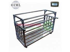 4TD0615PZ dobytčí váha 150 kg-M