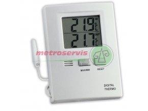 TFA 30.1012 digitální teploměr s interním a externím čidlem