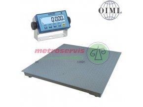 4T1212L-MB, 600 kg/ 2 kg Podlahová váha