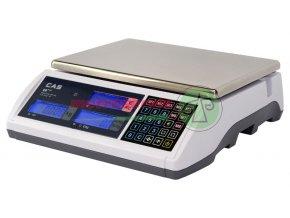 ER - PLUS 15kg bez nožky váha s výpočtem ceny Cas