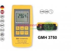GMH 3750 digitální teploměr s dataloggerovou funkcí pro výměnné snímače. Metroservis
