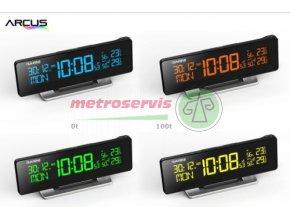 GArni 185 digitální budík Arcus s teploměrem a vlhkoměrem Metroservis s.r.o.