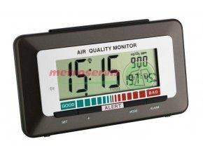 TFA 60.2527.10 digitální budík s teploměrem, vlhkoměrem a ukazatelem kvality vzduchu