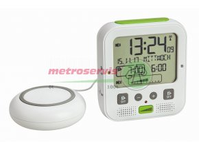 TFA 60.2538.02 budík s vibrační jednotkou a extra hlasitým zvoněním BOOM Metroservis
