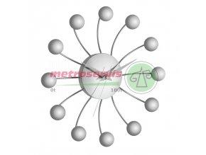 TFA 60.3010 nástěnné hodiny Spider