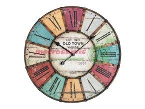 TFA 60.3021 nástěnné hodiny XXL VINTAGE