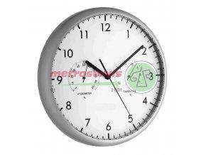TFA 98.1072 nástěnné hodiny s teploměrem a vlhkoměrem