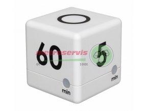 TFA 38.2032.02 digitální časovač CUBE bílé provedení Metroservis s.r.o.