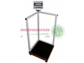 Osobní váha s podpěrou ZV1T66