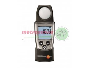 testo 540 light measuring instrument master