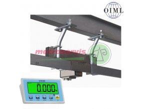 V2T P 600 Řeznická a jateční váha s plocháčovou dráhou 150 kg