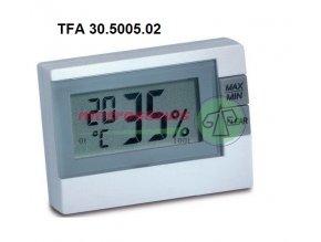 Digitální teploměr s vlhkoměrem TFA30.5005.02