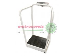 7708.24.001 osobní váha s podpěrou Soehnle Professional-M