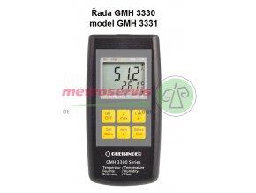 TEPLOMĚR S VLHKOMĚREM GMH 3331