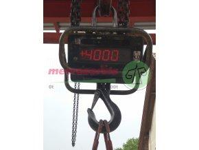 Akreditovaná kalibrace jeřábových vah do 5 t