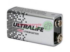 Lithium baterie 9 V, 1200mAH,,