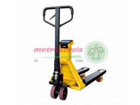 ARX LCD 2000 kg vážící paletový vozík bez tiskárny