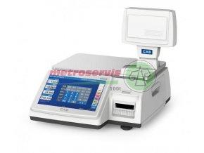 CL7200 15 kg obchodní etiketovací váha bez nožky Cas-M