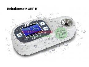 Refraktometr digitální, řada ORF H, Metroservis