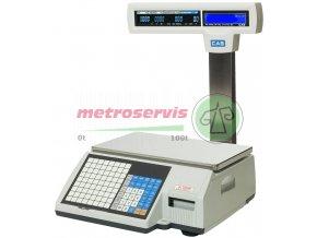 CL5500 systémová a etiketovací vaha 15kg s nožkou Cas
