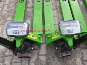 Půjčovné paletových vozíků s váhou - týden